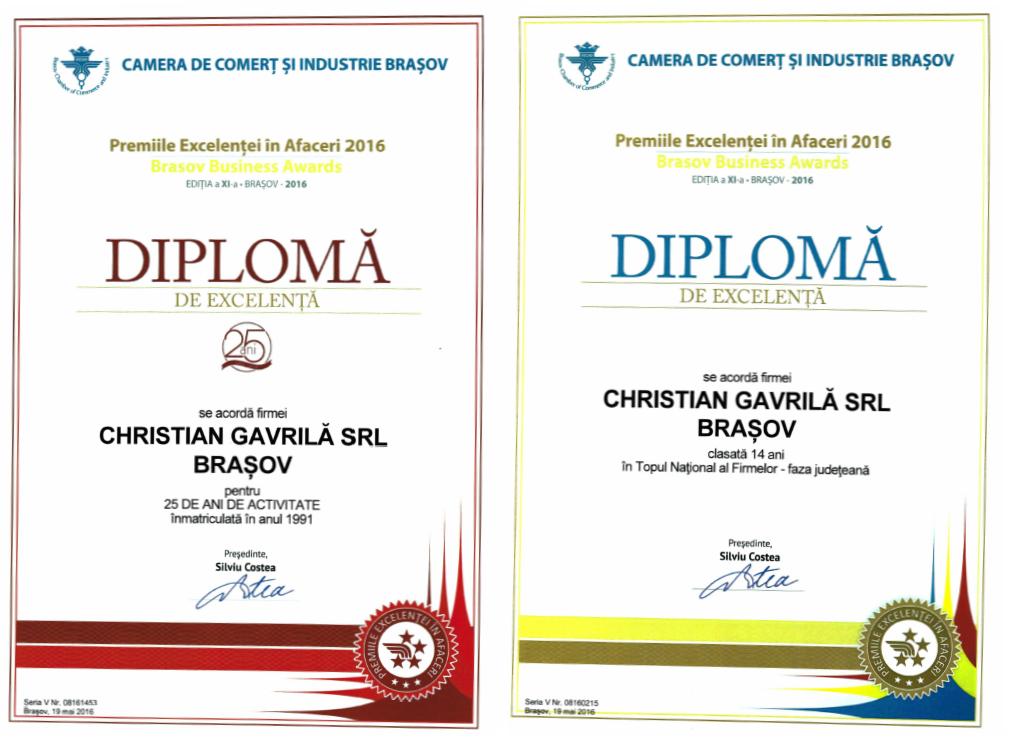 Diplome CCIBV 2016
